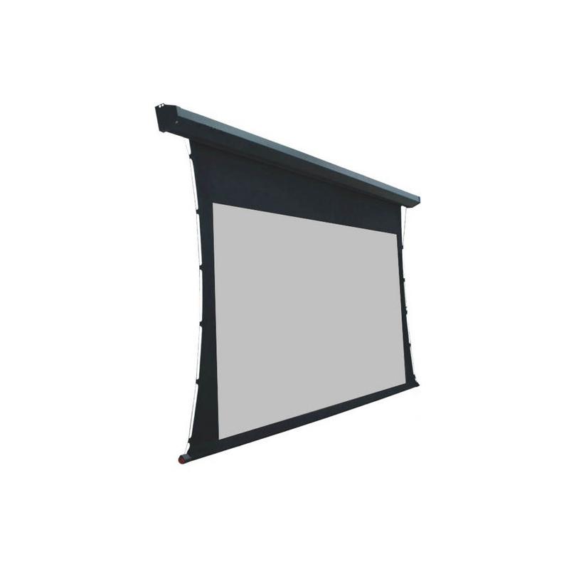 motorisierte projektionswand mit fernbedienung
