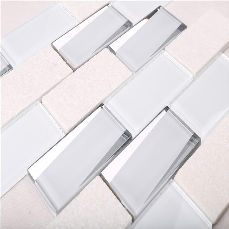 ... Hmb01 Dekoration Weiße Küche Backsplash Mosaik   Fliesen Küche Lanka  Fliesen   Preis ...