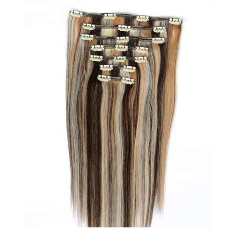 Wie wasche Clip-In Haarverlängerungen?