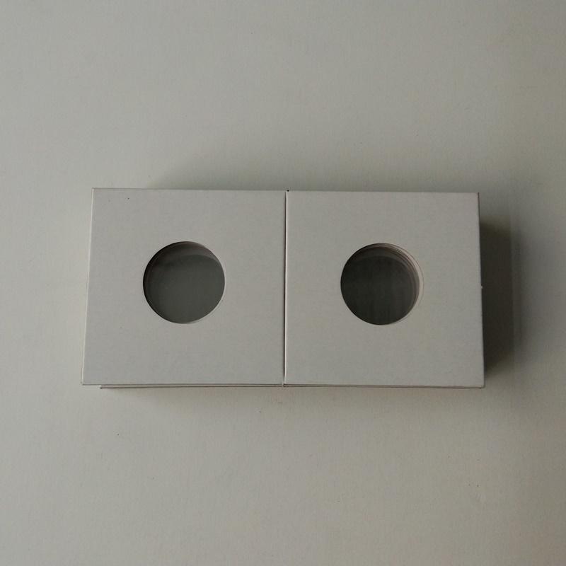2X2-Karton-Papiermünzhalter Flips