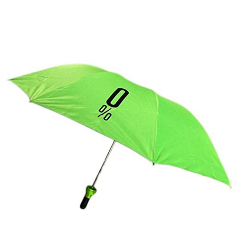 3 Falten Reisegröße tragbare Druck Faltflasche Regenschirm Geschenke für Frauen