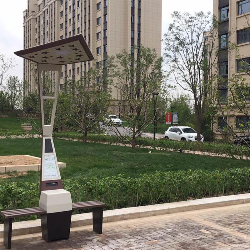Weiyin Smart Street Bänke in Peking