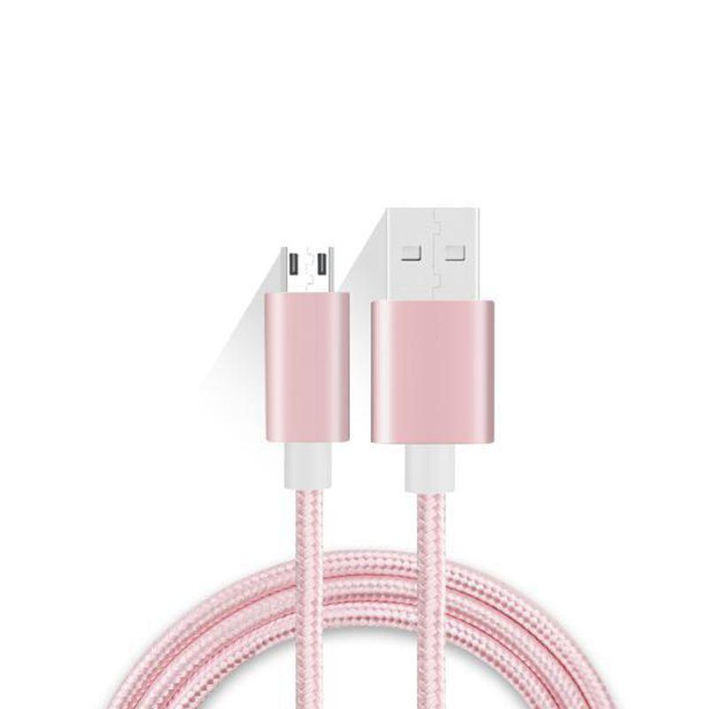 Geflochtenes Nylon-Mikrokabel zum Laden über USB