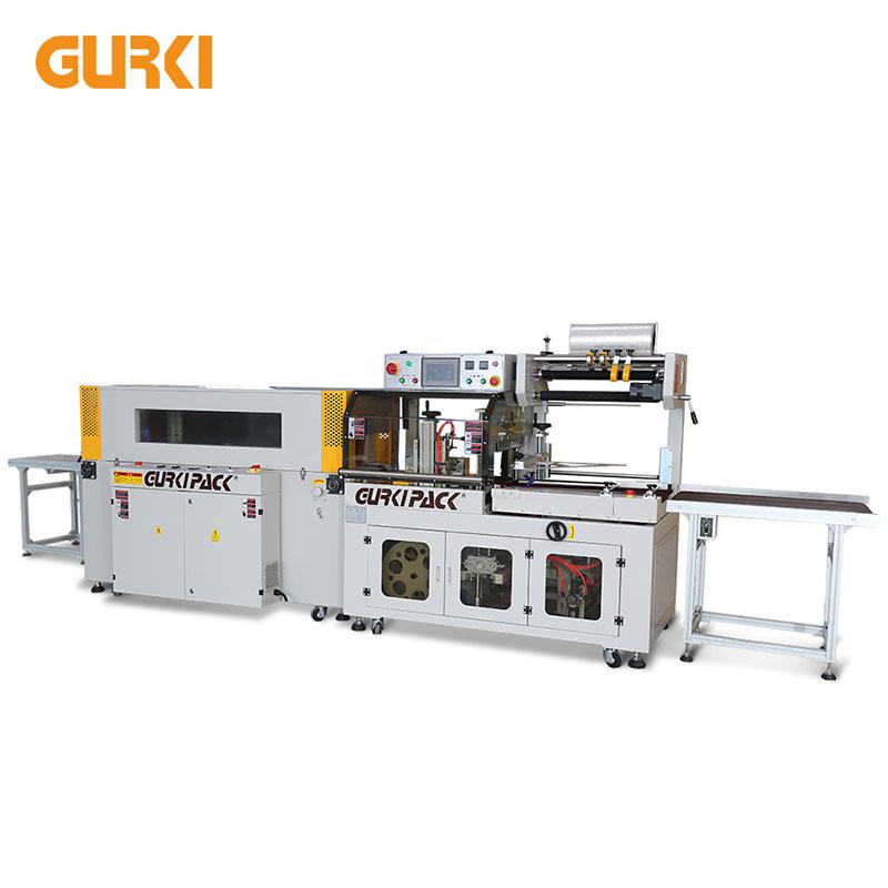 Bis zu 40 PCS / min Automatische Schrumpfverpackungsmaschine | GPL-5545C + GPS-5030LW