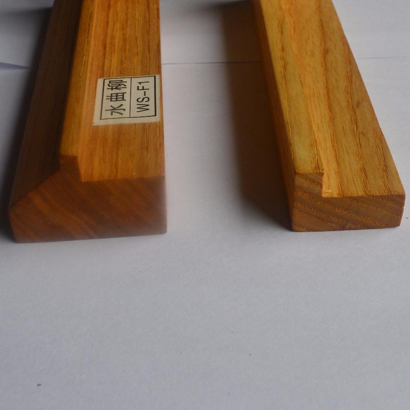 Kundenspezifischer Fotorahmen aus massivem Holz (Fraxinus mandshurica Rupr)