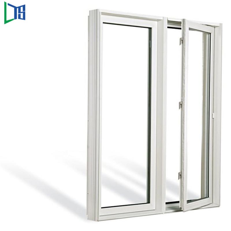 Flügelfenster aus Aluminium Pendelfenster mit pulverbeschichteter Einfachverglasung