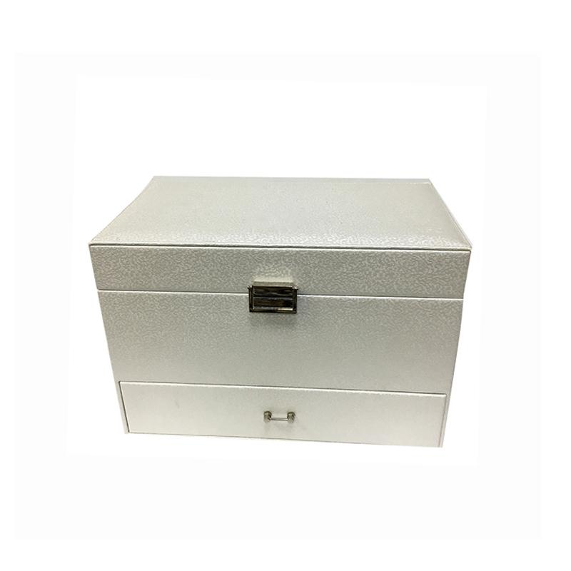 Großhandel maßgeschneiderte kleine Leder Luxus Schmuck Geschenkbox