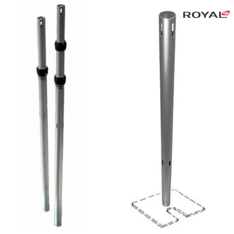 Pipe And Drape verstellbarer Pfosten 5ft-8ft