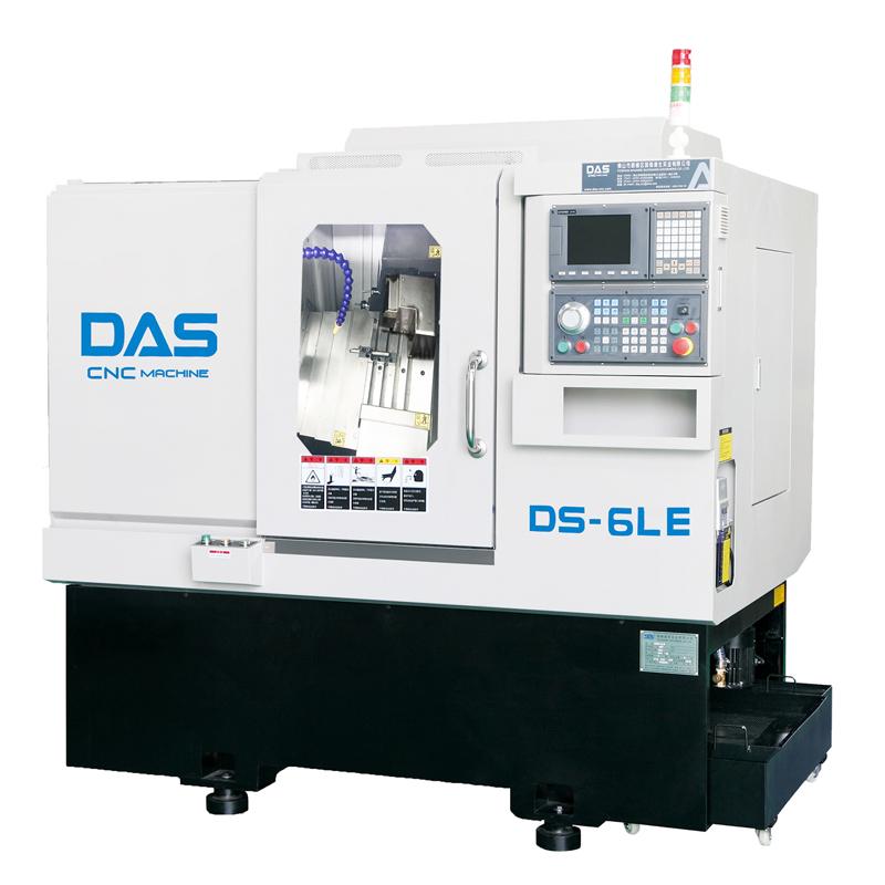 CNC-Drehmaschine mit Seiten- / Schaftfräsmaschine