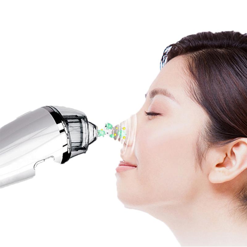 Mitesser Entferner Staubsauger - Porenreiniger Elektrische Mitesser Saug Gesichts Comedo Akne Extractor Tool für Frauen u0026 Männer