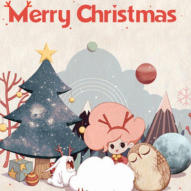 Frohe Weihnachten oder Happy Christmas
