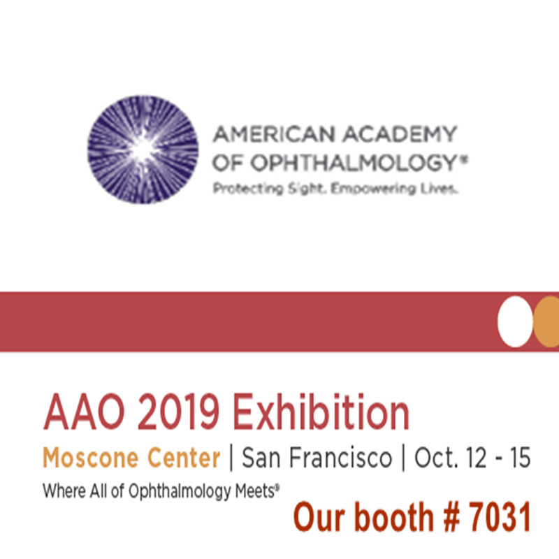 Willkommen zu besuchen uns auf AAO 2019 Ausstellung
