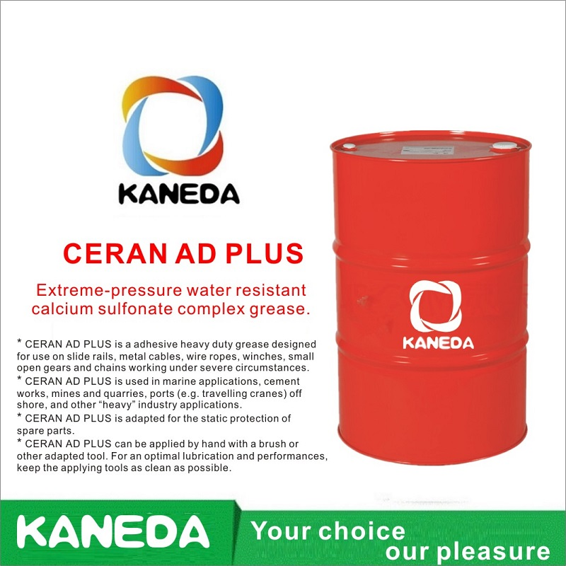 KANEDA CERAN AD PLUS Hochdruckwasserfestes Calciumsulfonat-Komplexfett.