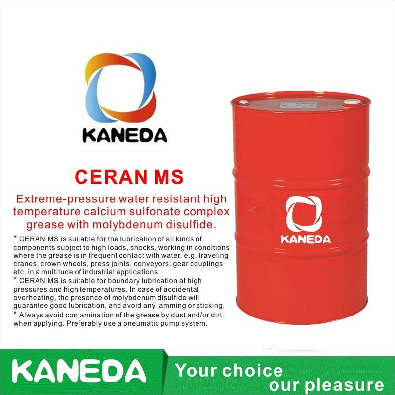 KANEDA CERAN MS Hochtemperatur-Calciumsulfonat-Komplexfett mit Molybdändisulfid.
