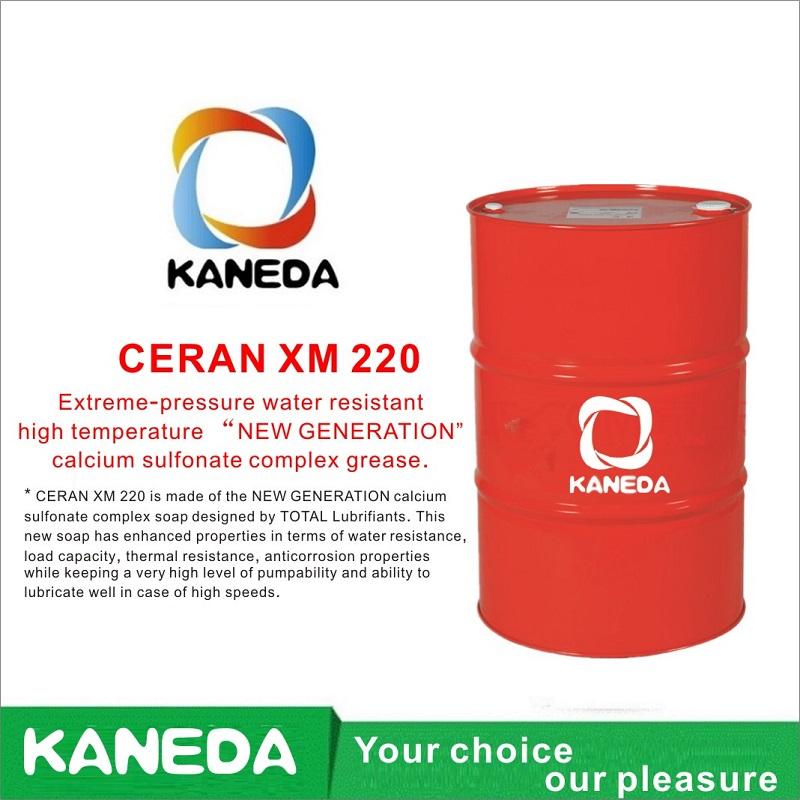"""KANEDA CERAN XM 220 Hochtemperatur-Calciumsulfonat-Komplexfett der """"NEUEN GENERATION"""" mit extrem hohem Wasserdruck."""