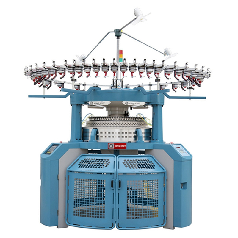 Vollständig computergesteuerte Ringstrickmaschine für Rippen