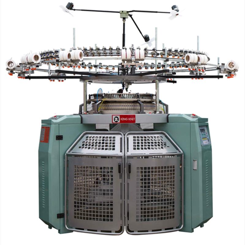 China Lieferant Großhandelspreise hochwertige High -Speed -Rundstrickmaschinen mit einem Trikot -Rundstrickmaschinen mayer