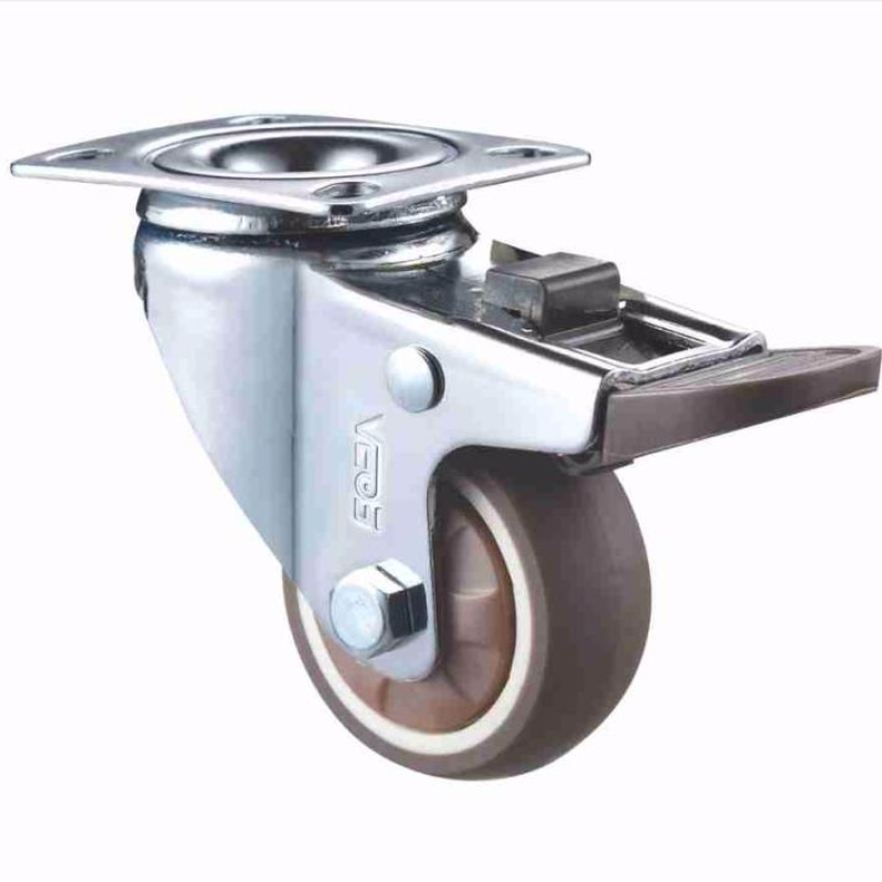 Leichtes Duty - Chrombeschichtetes Gehäuse mit weichem Profil TPR-Rad