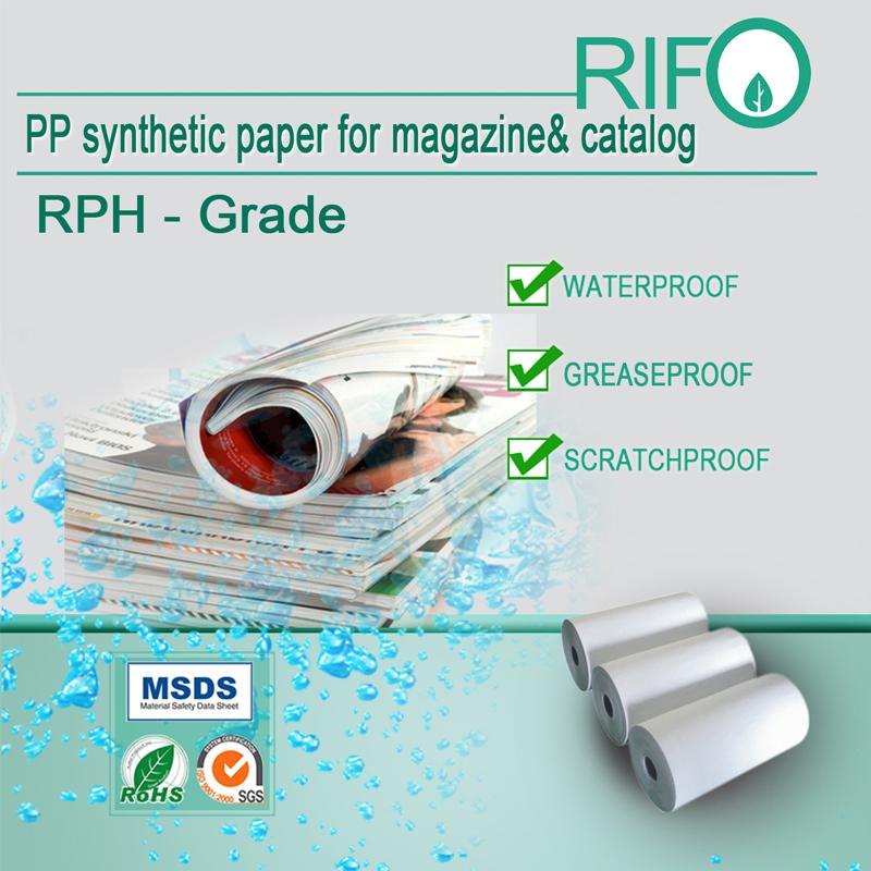 PP Synthetischer Papierhintergrund der Erfindung
