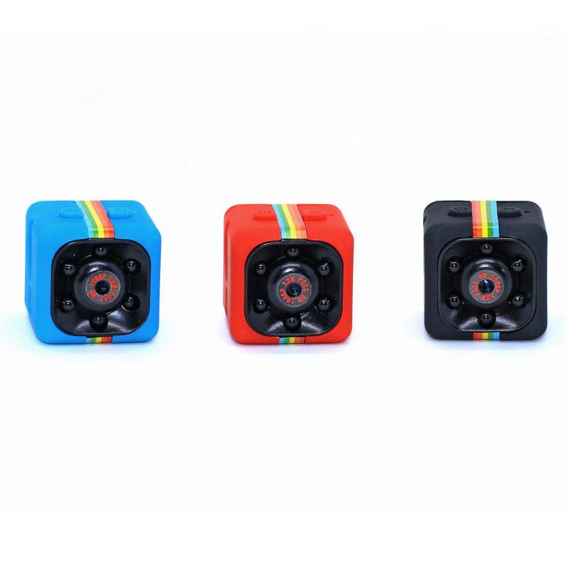 Tragbare Real HD 720P SQ11 Mini-Taschenkamera mit 140-Grad-Blickwinkel