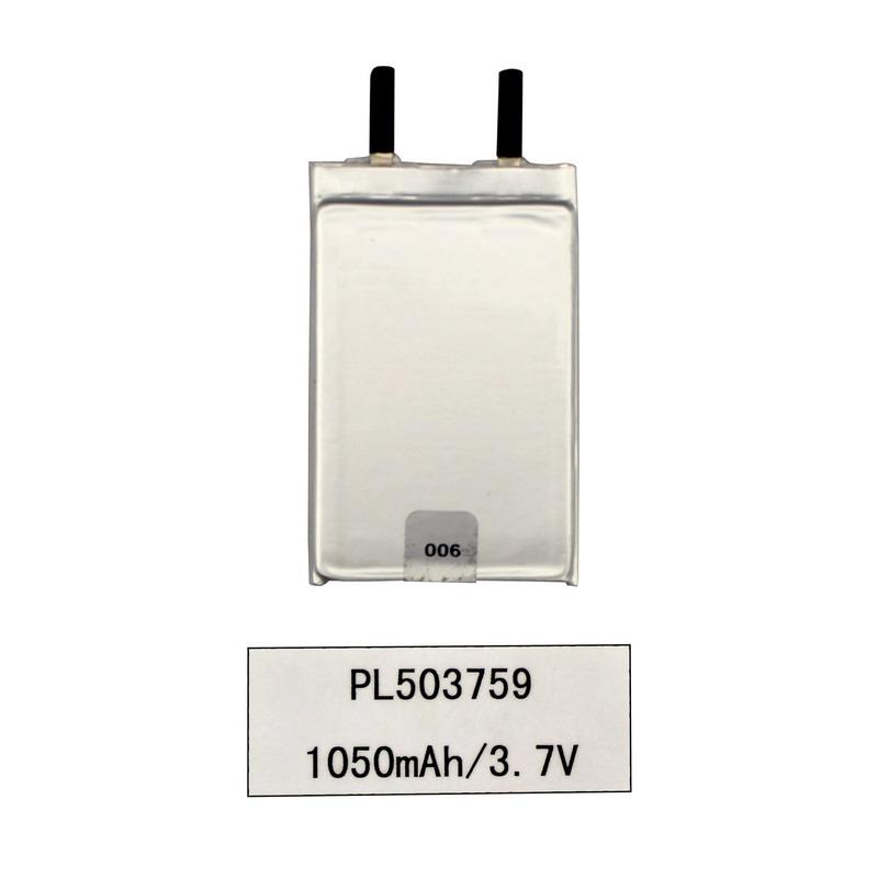 3,7 V Lithium-Ionen Lipo Polymer 1050 mAh Digitalproduktbatterie