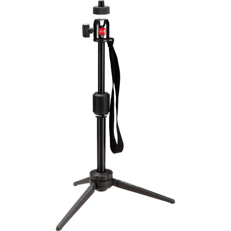 Aluminiumlegierung Mini-Video-Tischstativ mit Kugelkopf für Kamerastativ