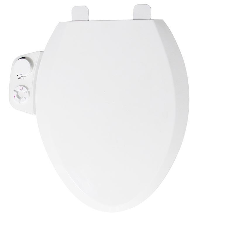 Geräumiger nichtelektrischer Bidet-Toilettensitz