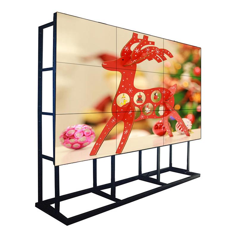 55-Zoll-1,7-mm-Lünette 500 NIT Samsung LCD-Videowand-Monitor für Command Center, Einkaufszentrum und Filialist