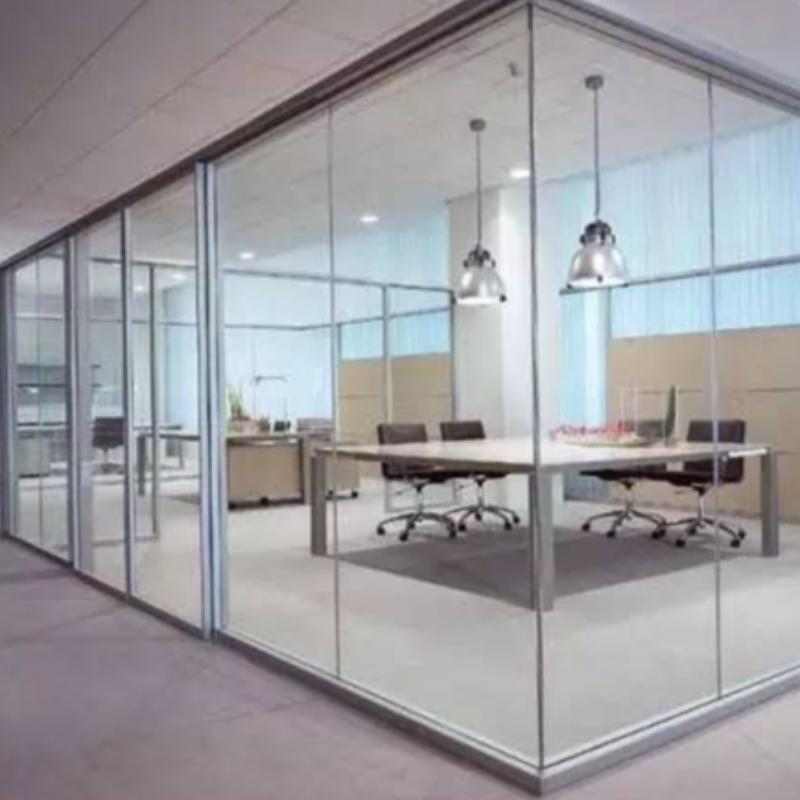 Detaillierte Montagemethode der framellosen Glasbodenfedertür