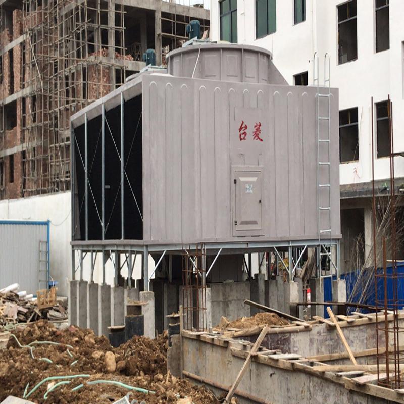 Der Unterschied zwischen Querstrom und Gegenstrom quadratischer Kühlturm